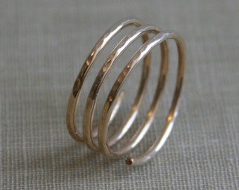 Spiral Wrap Ring- 14K Gold Filled