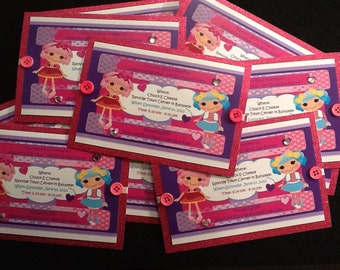 Made to order- LALALOOPSY Invitations