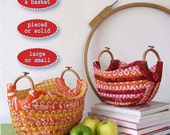 20% Off SALE! Hemma Design PATTERN - Britta Hoopster Basket