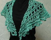 Pattern for Shawl Quick Lace Hand Knit Shawl Pattern