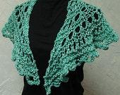 Pattern for Shawl Quick Lace Hand Knit Shawl Pattern