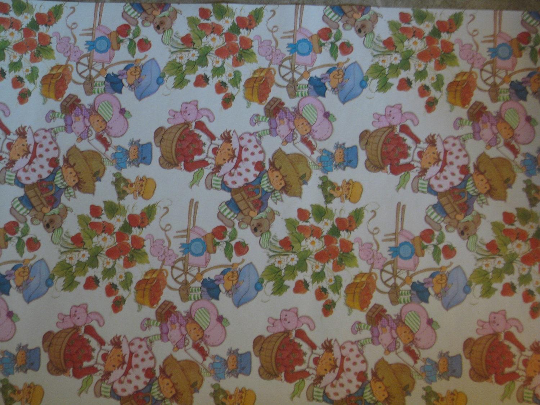 vintage Strawberry Shortcake wallpaper by TinyTinaCreations  Vintage Strawberry Shortcake Wallpaper