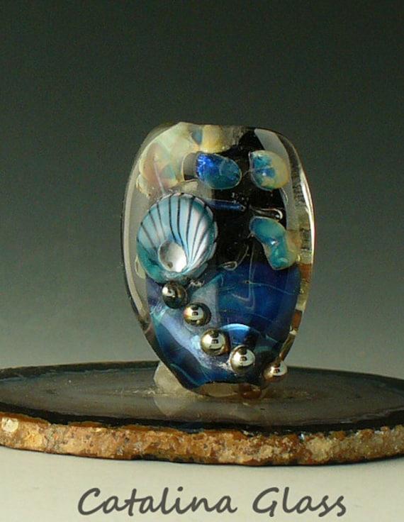 Lampwork Beads Handmade by Catalina Glass SRA  Murrini Focal