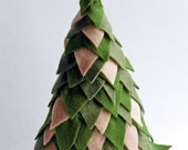 Hand Sewing Pattterns - PDF Instruction - Christmas Tree - a perfect handmade Holiday Tree for your nature table - INSTANT DOWNLOAD
