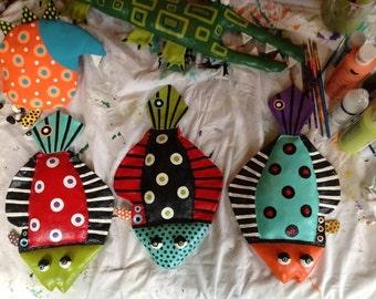 Funky Flounder - Wall hangings