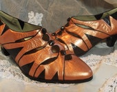 Gatsby Copper Shoes