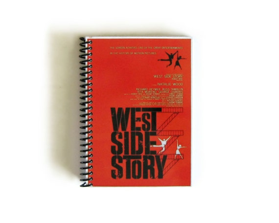 West Side Story - Notebook Spiral Bound - 4 x 6