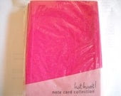 12 Blank Cards with Envelopes in Pink