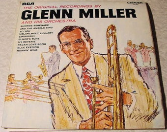 CLEARANCE Glenn Miller and His Orchestra LP The Original Recordings vintage vinyl record album 1969 // 33 1/3 RPM big band swing