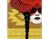 iPhone 4 and 4s case Cardinal Warrior