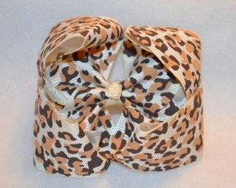 CLEARANCE Cheetah  Bowtique Bow