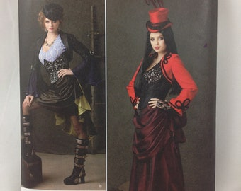 Simplicity 1819   sz.6-12   Burlesque or Steampunk Pattern  NEW  UNCUT