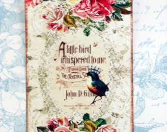 Crowned Bird Gift Tags