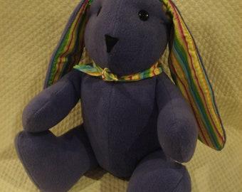 Bright Purple Bunny