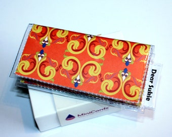 SALE 40% OFF Moo Quick Snap Card Holder - Somerset