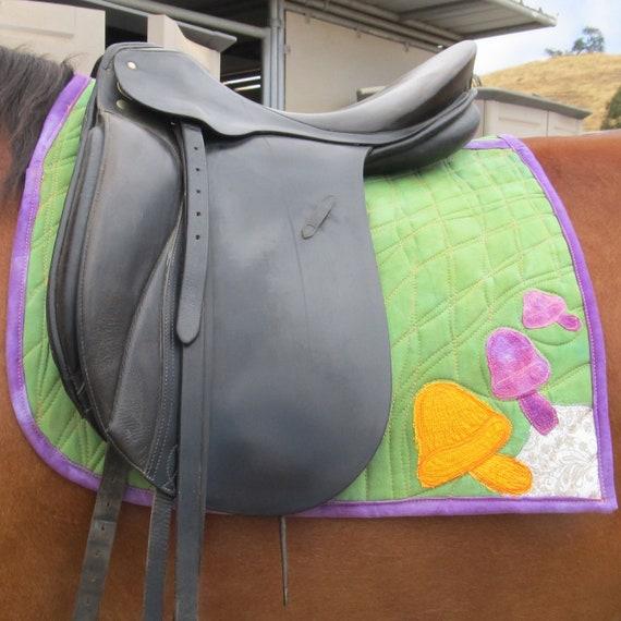 Equine Couture Art Saddle Pad Dressage Heavy Cotton DCBDRE1504
