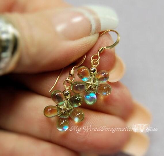 wire wrap earrings instructions