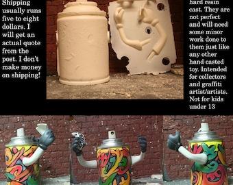 Spray can Guy, Lata meng