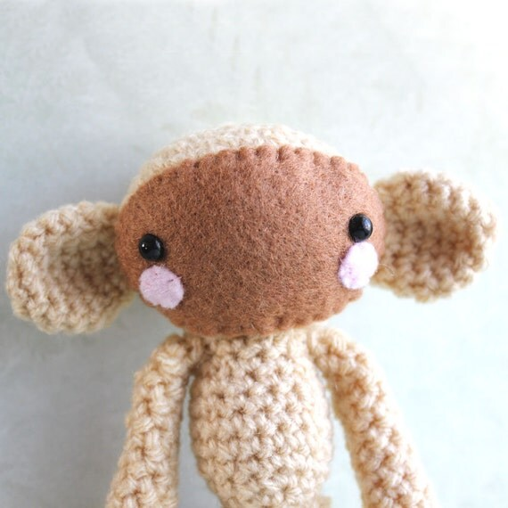 Mal the Amigurumi Monkey