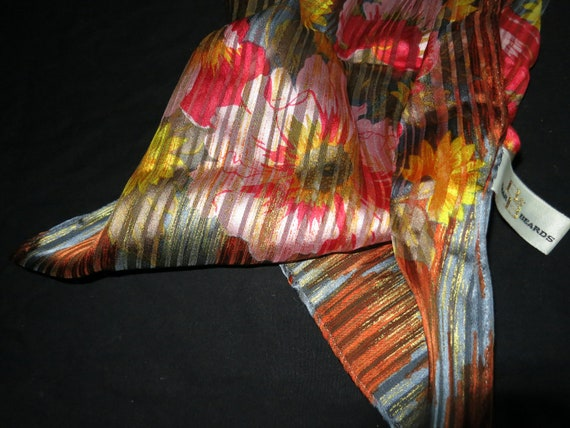 Vintage Baar and Beards Silk Scarf