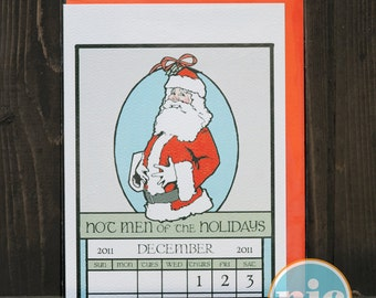 Hot Santa -- Christmas Card from The Nic Studio