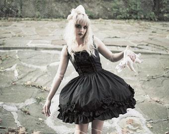 Gloomth Valance Corset Dress