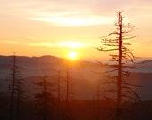 Smoky Mountain Sunrise 8x10 Print