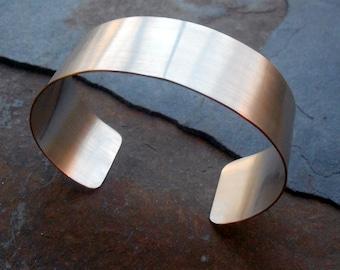 Silver Filled Cuff Bracelet