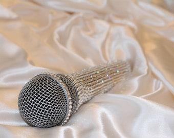 Crystallized Microphone Shure sm 58 Swarovski Crystals