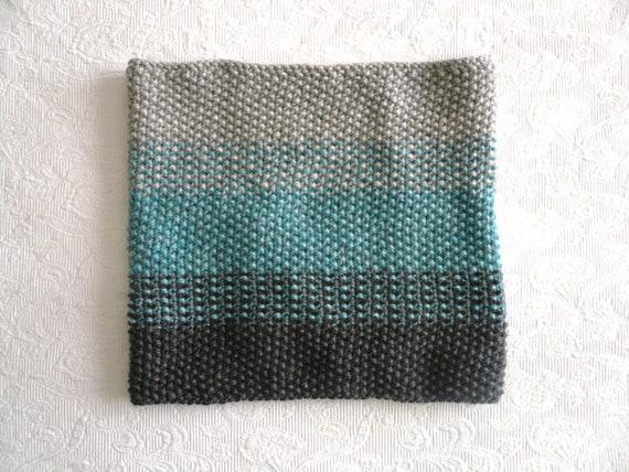 ombré cowl HAND knit
