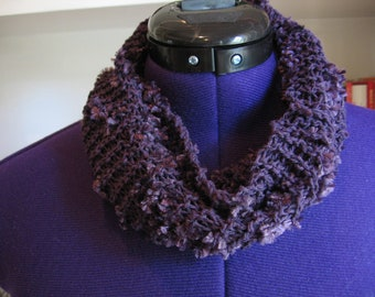 Purple Cotton Cowl