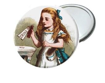 Mirror - Classic Alice In Wonderland Drink Me Image