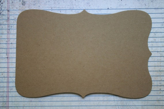 Mix and Match Style no. 2  Chipboard die cut Album 6 pgs with no holes or binding