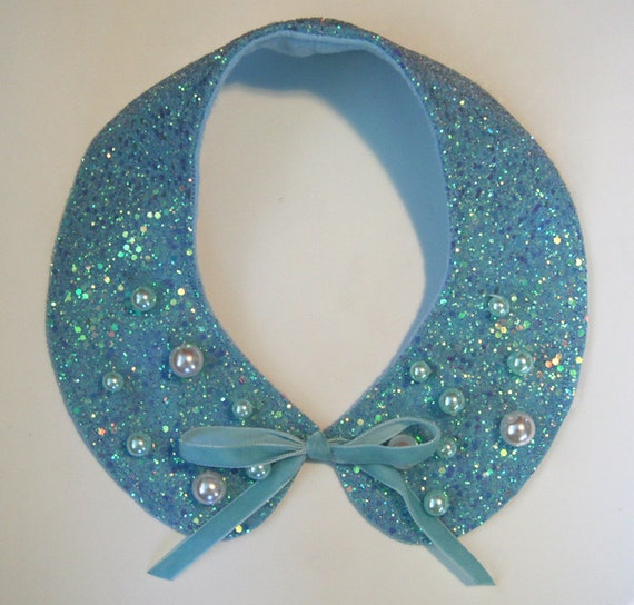 Mermaid Sparkles Glitter Collar Necklace Accessory by Cutie Dynamite