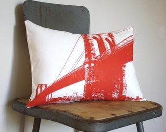 Brooklyn Bridge - Urban Throw Style no12 - NYC - Manhattan - New York