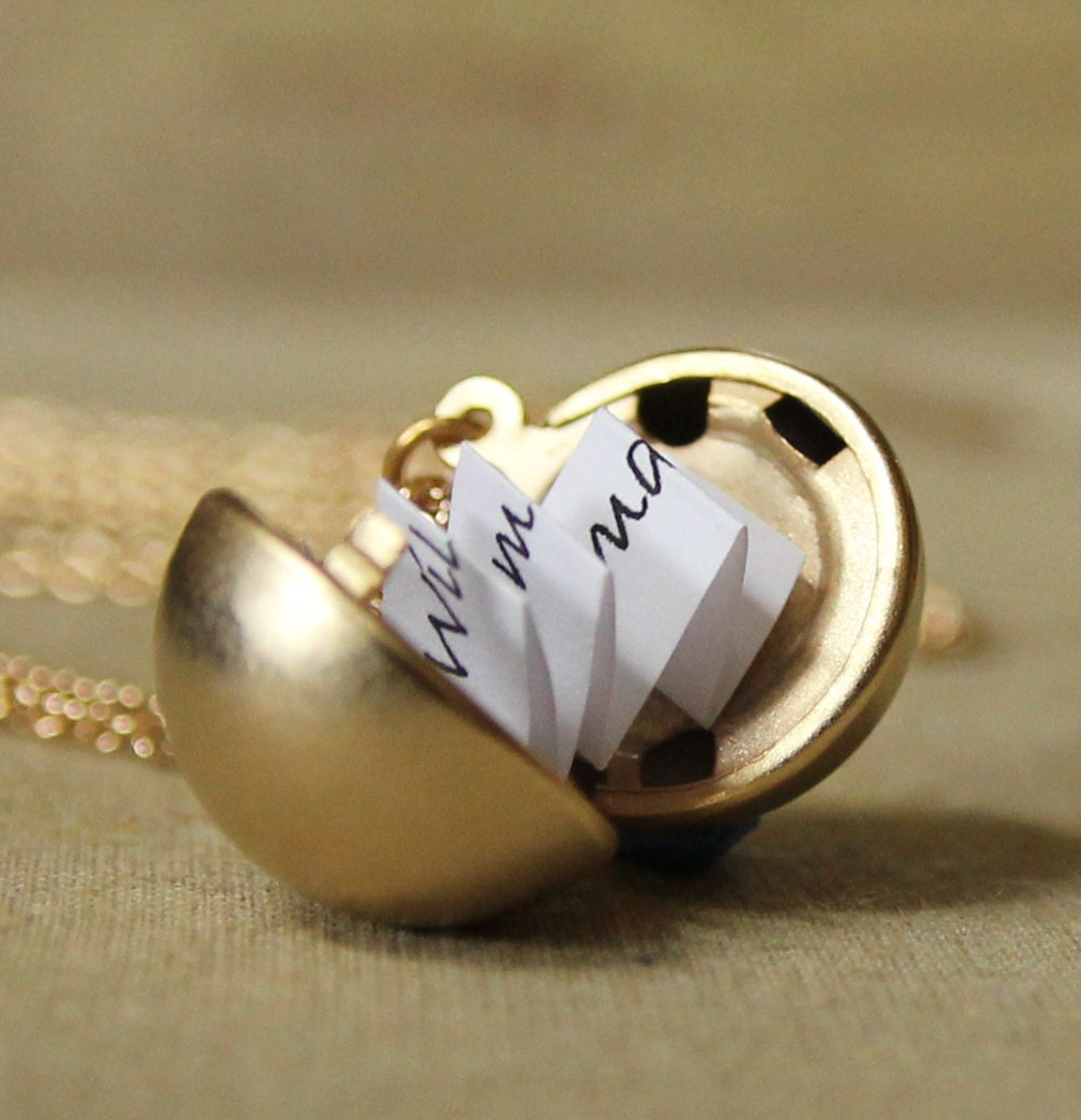 Secret Message Locket Matte Gold Vintage Ball Locket. Fashion Jewelry. Ruby Anniversary Bands. Plain Sterling Silver Bangle. Green Crystal Earrings. White Gold Anniversary Band. Childrens Watches. Glass Bottle Pendant. Active Rings
