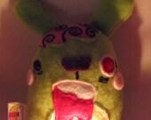 Sherwin the Zombie Bunny