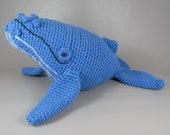 Humpback Whale - PDF amigurumi crochet pattern
