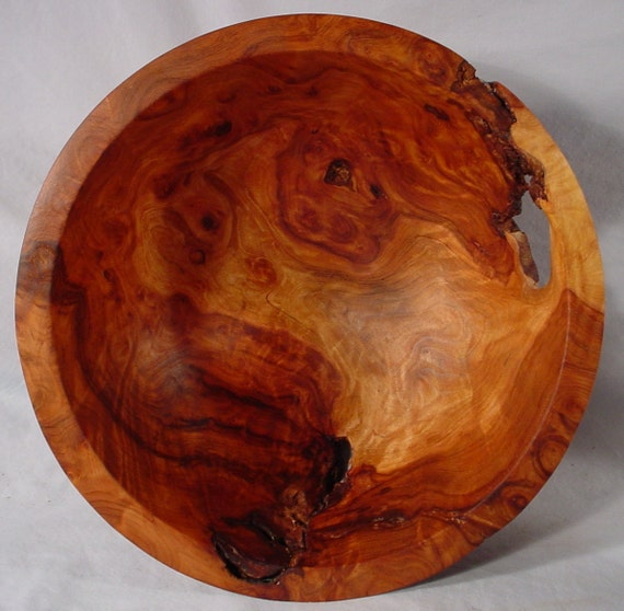 Redwood Burl Hand Turned Wooden Bowl Art Number 4662 by Bryan Tyler Nelson