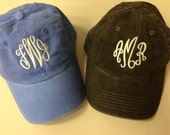 Embroidered, Personalized and Preppy for you - Women's HAT Baseball Cap