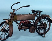 1912 reproduction working motorcycle for bears