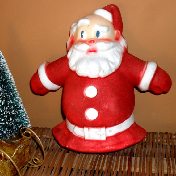 Vintage santa claus christmas tree topper light cover