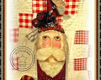 E Pattern - JoLLy OLdE SoUL SaNtA BoTTLe