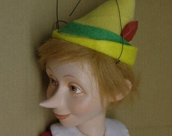 PINOCCHIO  marionette limited edition