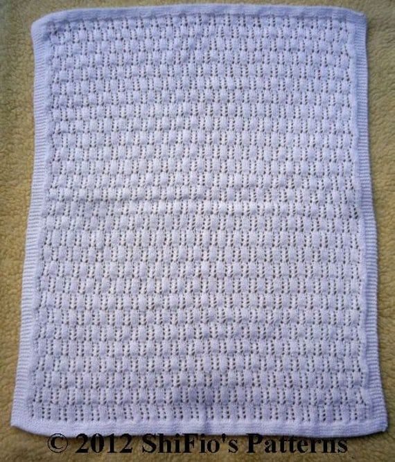 Knitted Blanket Patterns Nz : KNITTING PATTERN For 3 Baby Pram Crib Cot Blanket, Afghan PDF 229 Digital Dow...
