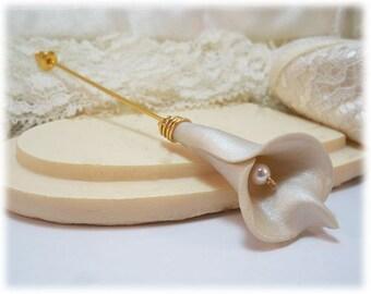 Calla Lily Brooch or Stick Pin - Calla Lily Jewelry