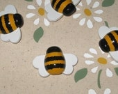Bumble Honey Bee Push Pins for Bulletin Board
