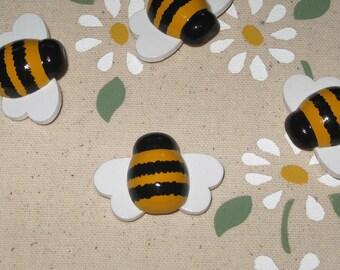 Bumble Honey Bee Push Pins for Bulletin Board