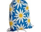 Daisy May Drawstring Backpack