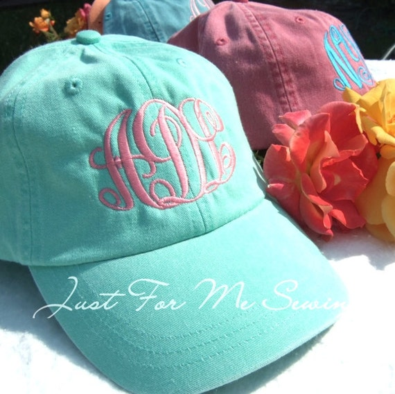 Monogrammed Baseball Hat-Fast Shipping-Monogram included